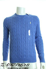 BNWT POLO RALPH LAUREN ROVING CABLE CREWNECK SWEATER JUMPER LONG SLEEVE RRP £115