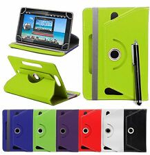 Universal 360°Rotatable Leather Stand Case Cover For 7Inch Tab Android Tablet PC