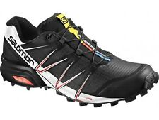 Scarpe Trail Running SALOMON SPEEDCROSS PRO black white bright red
