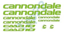 KIT 10 ADESIVI STICKERS BICI CANNONDALE CAAD10-01