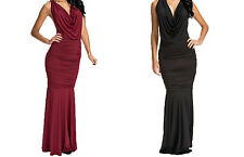 Ladies Evening Sexy Cocktail Long Prom Dress Maxi Party Wedding Ball Gown