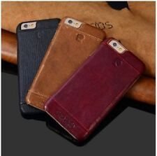 *ORIGINAL Pierre Cardin Genuine Leather Back Cover Case For Apple iPhone 5/5S*