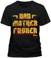 OFFICIAL Pulp Fiction Bad Mother Fucker T Shirt Mens Black New Quentin Tarantino