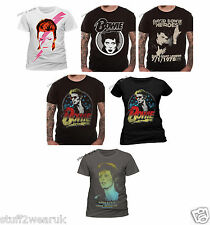 OFFICIAL David Bowie T Shirts Aladdin Sane Smoking Heroes Ziggy Stardust
