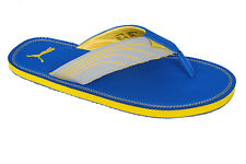 Puma Brand Mens Blue,Yellow Casual V-Shape Slipper / Flip Flops Ketava 304