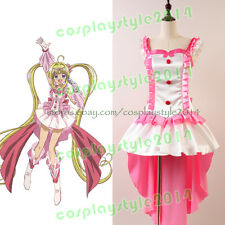 Mermaid Melody Pichi Pitch Lucia Nanami Idol Form Dress Cosplay Costume Attire