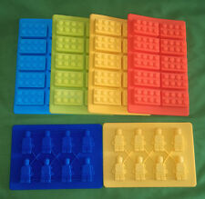 Building Brick Silicone Mould Mold Sugarcraft UK Sugarpaste Chocolate Topper UK