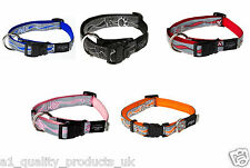Rogz, Reflective Dog Collar, Soft Touch, Pet Cat Puppy, Adjustable, Branded BNIB