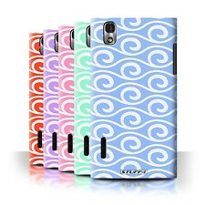 STUFF4 Phone Case/Back Cover for LG Prada 3.0/K2/P940 /Chic Wave Pattern