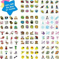 36 Childrens Temporary Tattoos Pinata Loot/Party Bag Fillers Kids