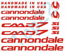 KIT 13 ADESIVI STICKERS BICI - BIKE CANNONDALE CAAD7-00