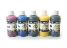 Heat transfer Pigment ink ciss ink refill 5 x 100ml fits with Epson printers