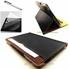 Soft Leather Wallet Smart Case Cover Sleep Wake Stand for All Apple iPad Models