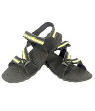 Puma Brand Mens Original Black,Green Silicis Soft Sandal