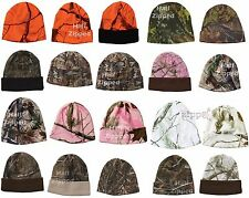 "Kati 8'' or 12"" Knit Cap Realtree or Breakup Camo Beanie Hat LCB08 Camouflage"