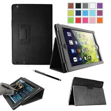 PU Leather Smart Slim Folio Flip Stand Case Cover For iPad 2, iPad 3 & iPad 4 UK