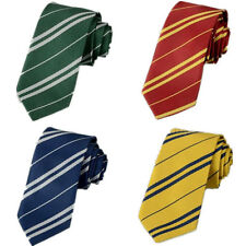 Hot Harry Potter Gryffindor /Hufflepuff/Ravenclaw/Slytherin School Costume Tie