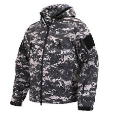 SPECIAL OPS TACTICAL SUBDUED URBAN STREET CITY BLACK GRAY SOFTSHELL JACKET COAT