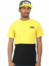 DC Rob Dyrdek Leather Print-Yellow Format T-Shirt