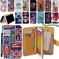 Flip Stand Card Wallet Leather Cover Case For Samsung Galaxy A E J Series Phones
