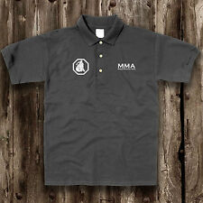 MMA Cage Fighting Polo Shirt -- Training Top Mixed Martial Arts Clothing