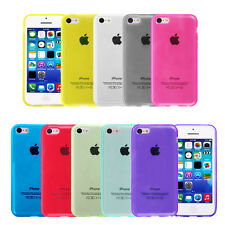 COVER Bumper Custodia MORBIDA GEL Silicone TRASPARENTE TPU per iPhone 5C