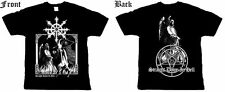 Omega - Straight down in Hell T - Shirts -BLACK THRASH METAL-