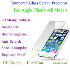 Front And Back Tempered Glass Screen Protector For Apple iphone - All Models