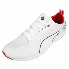 Puma BMW MS Pitlane Nightcat White Red Sport Car Mens Shoes