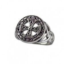 etNox-Ring ''Silver Celtic Cross'' 925 Silber