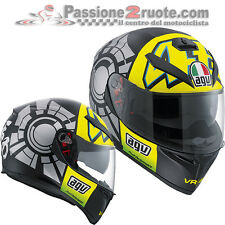 Casco Agv K3 sv Valentino Rossi Winter Test integrale moto gp replica