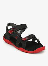 Adidas Mens Argo Black Red Sports Sandals / Floaters - Cod Available