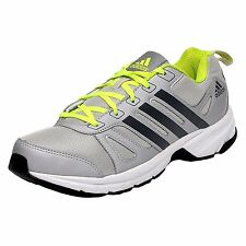 Adidas Brand Mens Adi Primo Silver Lime Running Sports Shoes