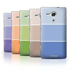 STUFF4 Phone Case/Back Cover for Sony Xperia SP/C5303 /Pastel Colour Tones