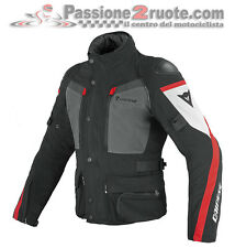 Giacca Dainese Carve Master Gore-Tex Nero Castle-Rock Rosso Moto Jacket