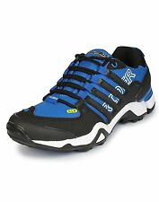 COLUMBUS BRAND MENS BLACK ROYAL BLUE RIDER CASUAL LACE SPORTS SHOES