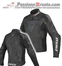 Giacca pelle Dainese Laguna Evo Nero Black Moto leather Jacket