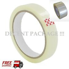 48mm-24mm X66m BIG Rolls CLEAR STRONG Parcel Tape*Packing Sellotape Box Sealing