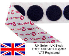 GENUINE VELCRO® 13mm 22mm dots self adhesive coins PS14 hook & loop discs