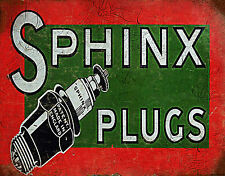 SCOTCH PETROL FROM SCOTTISH SHALE OLD Ad Reproduction Metal POSTER TIN Sign