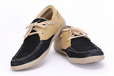 Quarks Men's Smart Lace Up Casual Shoes - Khaki Color - Q1024KH