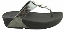 FITFLOP PETRA WOMENS COMFORT SHOES/SANDALS/THONGS/ARCH CONTOUR/MICROWOBBLEBOARD