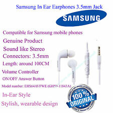 100% Origin Samsung In Ear Earphones 3.5mm Jack Handsfree