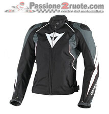 Giacca Donna Dainese Raptors Tex Lady Nero Antracite Bianco Moto Jacket