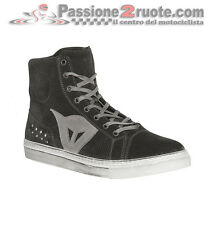 Scarpe Dainese Street Biker Air Nero Antracite Moto Shoes