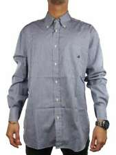 BROOKSFIELD REGULAR FIT 7201001110 BLU BIANCO Camicia manica lunga Uomo