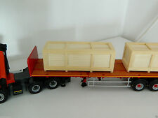1:50 Scale Handcrafted Large Wooden Boxes, Heavy Haulage, Full or Part Load, New