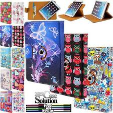 """Universal Rotating Stand Leather Case Cover For Android Tablet PC 7"""" 8"""" 9"""" 10.1"""""""