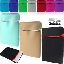 "Universal Neoprene Carrying Bag Sleeve Case For 11"" 13"" 15"" Notebook Laptop PC"