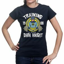 Training To Become Dark Knight Fitness Running Body Building Womens T shirt Top